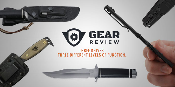 TRIPLE KNIFE ROUNDUP: SOG Trident 2.0 vs DPx HEST vs SOG Slim Jim XL