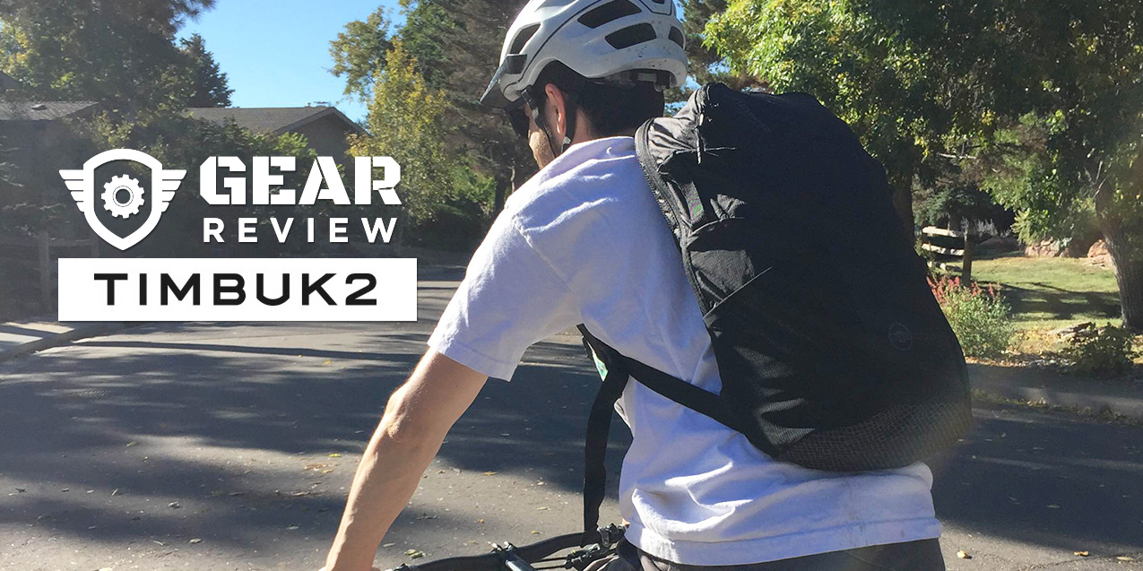 The Timbuk2 Raider Pack is Ready to Take a Ride