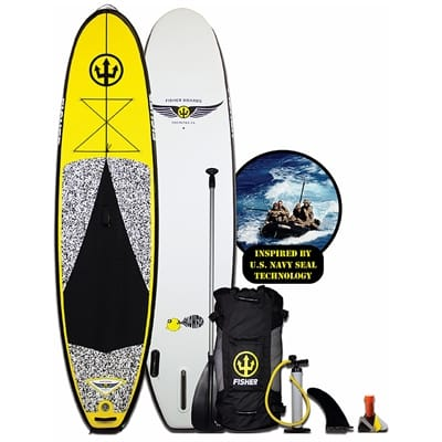 fisher-110-blowfish-inflatable-standup-paddleboard-package